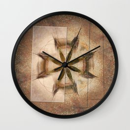 Romyko Impression Flower  ID:16165-085322-56301 Wall Clock