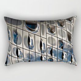 METALLIC SOUND Rectangular Pillow