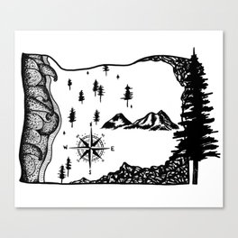 Oregon Love Canvas Print