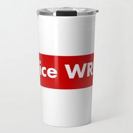 Juice wrld box logo Travel Mug