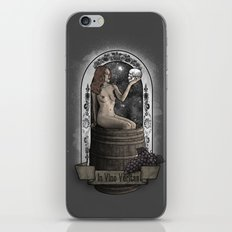 In Vino Veritas iPhone & iPod Skin