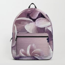 Imperfect Plumeria Backpack