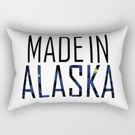 Made In Alaska Rectangular Pillow
