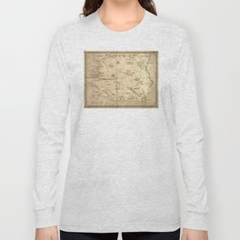 Map of Imirillia Long Sleeve T-shirt