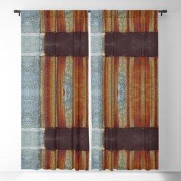 Rusty metal Blackout Curtain