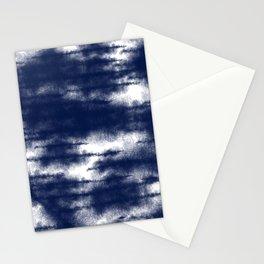 Blue Shibori Dye  Stationery Cards