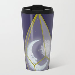 locked in crystal glass Travel Mug