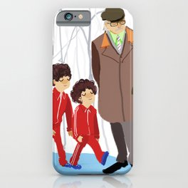 let's shag ass (wes anderson) iPhone Case