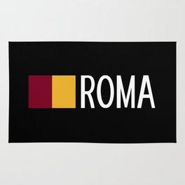 Italy: Roman Flag & Roma Rug