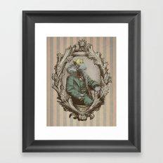 Royal Portrait, 1931 (colour option) Framed Art Print