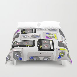 Mix Tapes Duvet Cover