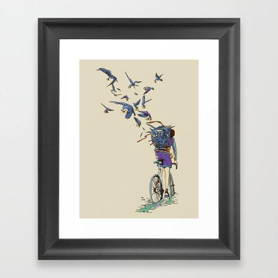 TweetJourney Framed Art Print