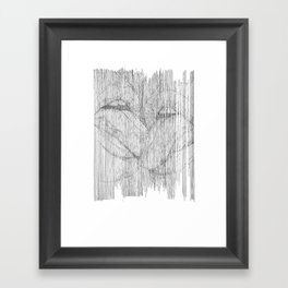 play your part Framed Art Print