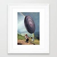 kids Framed Art Prints featuring kids by Hugo Barros