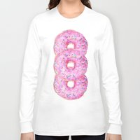 donut Long Sleeve T-shirts featuring DONUT!!!! by annelise johnson
