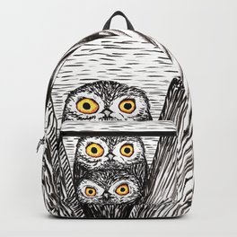 Two cute owls Backpack