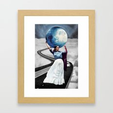 Obligatory Frida - PAINTING Framed Art Print