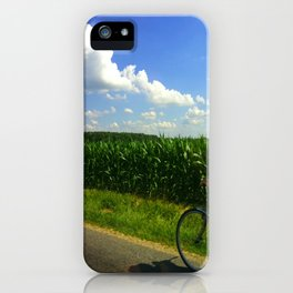 Get home before dinner iPhone Case
