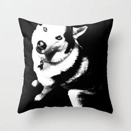 Husky Husky Throw Pillow
