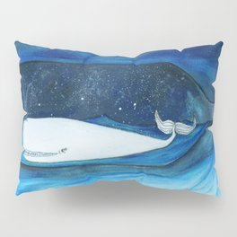 whale in a space bottle Pillow Sham
