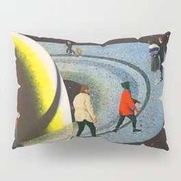 Saturn's Rink Pillow Sham