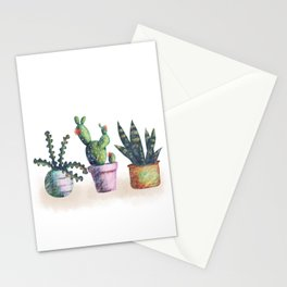 Cacti for cactuslovers Stationery Cards