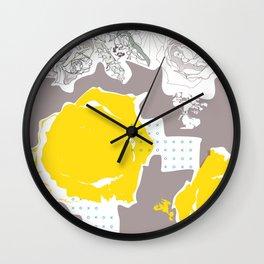 English tea in summer Wall Clock