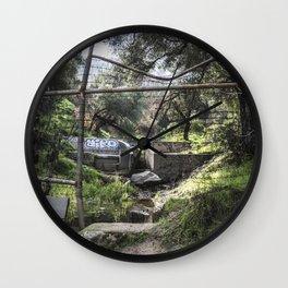 Escape Route Wall Clock