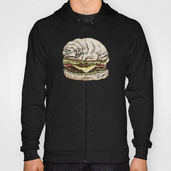 Pug Burger Hoody