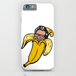 Banana Jeff Goldblum iPhone Case