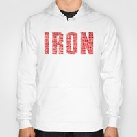 ironman Hoodies featuring IRONman  by Kramcox