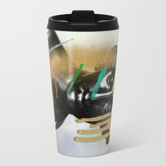 Composition 527 Metal Travel Mug