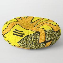 Keith Haring Dancing Dog Floor Pillow