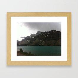 Canadian Rockies Framed Art Print