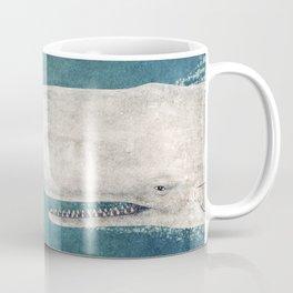 The Whale - vintage Coffee Mug