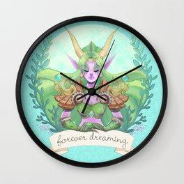 Ysera of the Dream Wall Clock