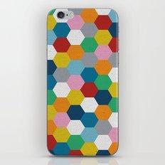 Honeycomb 3 iPhone & iPod Skin