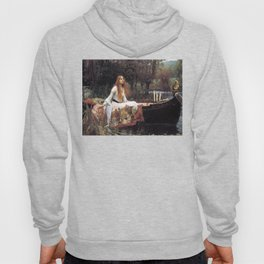 The lady of shalott painting  Hoody