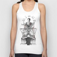 hannibal Tank Tops featuring Hannibal by Lunzury