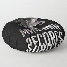Label Logo 3A Floor Pillow