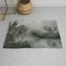 Stormy Sea Abstract Film Rug