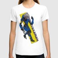 garrus T-shirts featuring Garrus Vakarian by KuroHyena