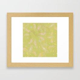 Interlacing Insecta Framed Art Print