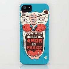 Nuestro amor es feroz iPhone (5, 5s) Slim Case