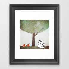 cat-17 Framed Art Print