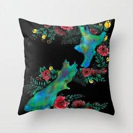 NewZealand Map Throw Pillow