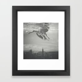 Invisible Cities Framed Art Print