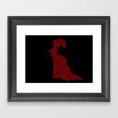 VICTORIAN WOMAN Framed Art Print