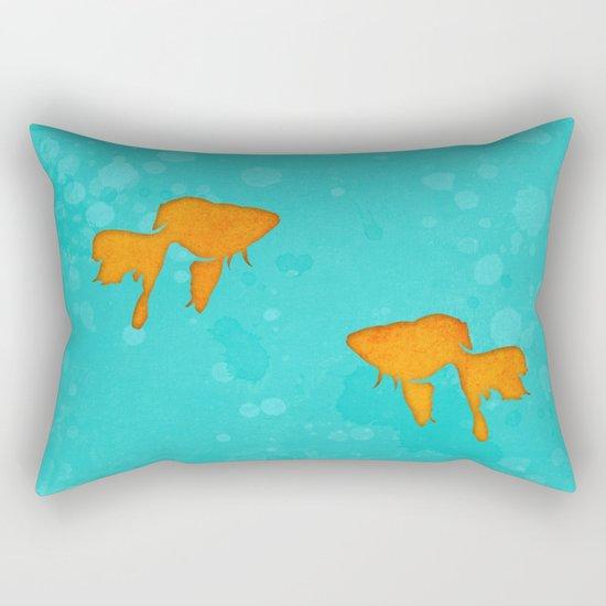 Aquarium for two Rectangular Pillow