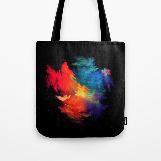 Rainbow colors Tote Bag
